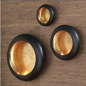 Global Views Harvest Moon tealight candle sconce